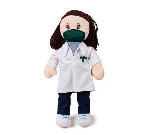 Gratitude Dolls Hamleys Gratitude Dolls - Doctor Dolls & Puppets for Kids Age 3Y+ - 37 Cm