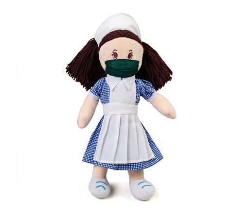 Soft Buddies Hamleys Gratitude Dolls - Nurse Dolls & Puppets for Kids age 3Y+ - 37 Cm