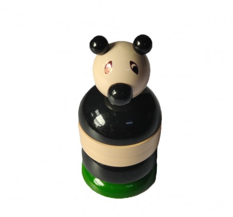 Nurture India Wooden Panda Counting Set Wooden Toys for Kids age 12M+