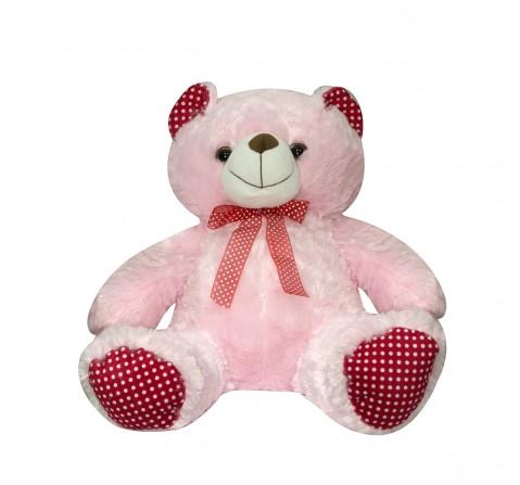 Soft Buddies Bear Polka Beige, Unisex, 1Y+(Multicolour)
