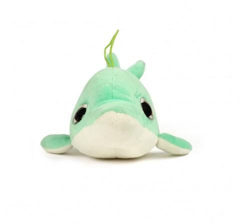 Soft Buddies Dolphin Sea Green, Unisex, 1Y+(Multicolour)
