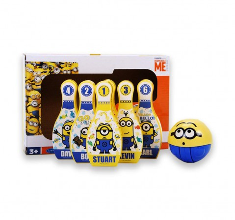 Minion 3D Playball With Bowling Set, 2Y+ (Multicolor)