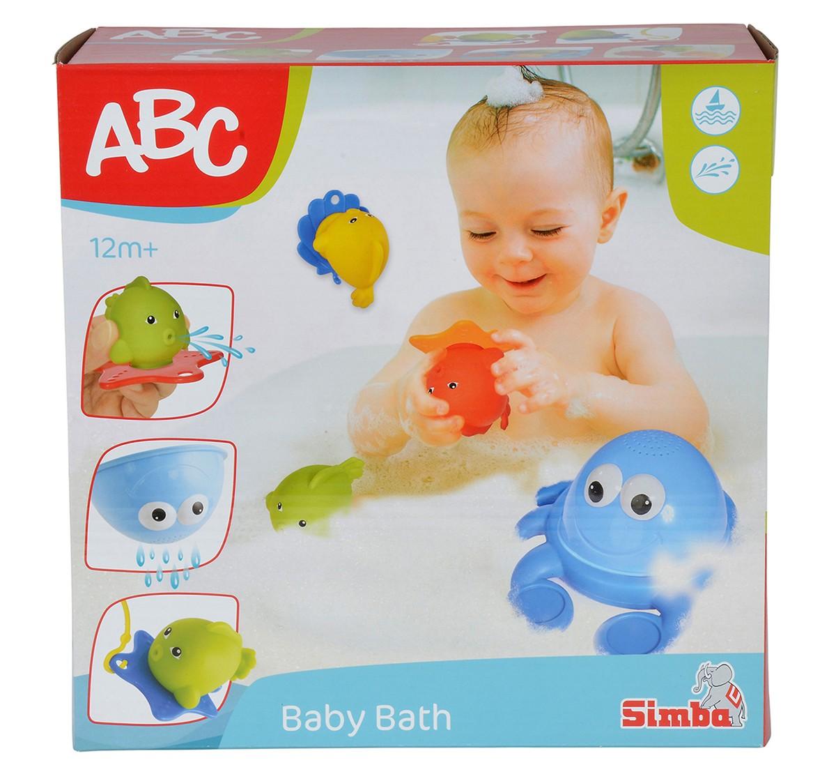 Simba Abc Bathing Crab, Unisex, 12M+ (Multicolor)