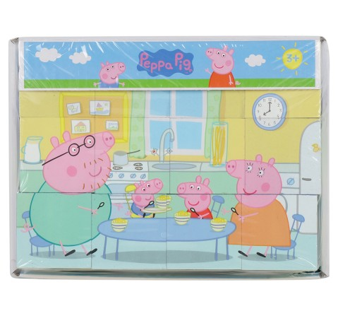 Simba Peppa Pig Picture Cube, Unisex, 3Y+ (Multicolor)