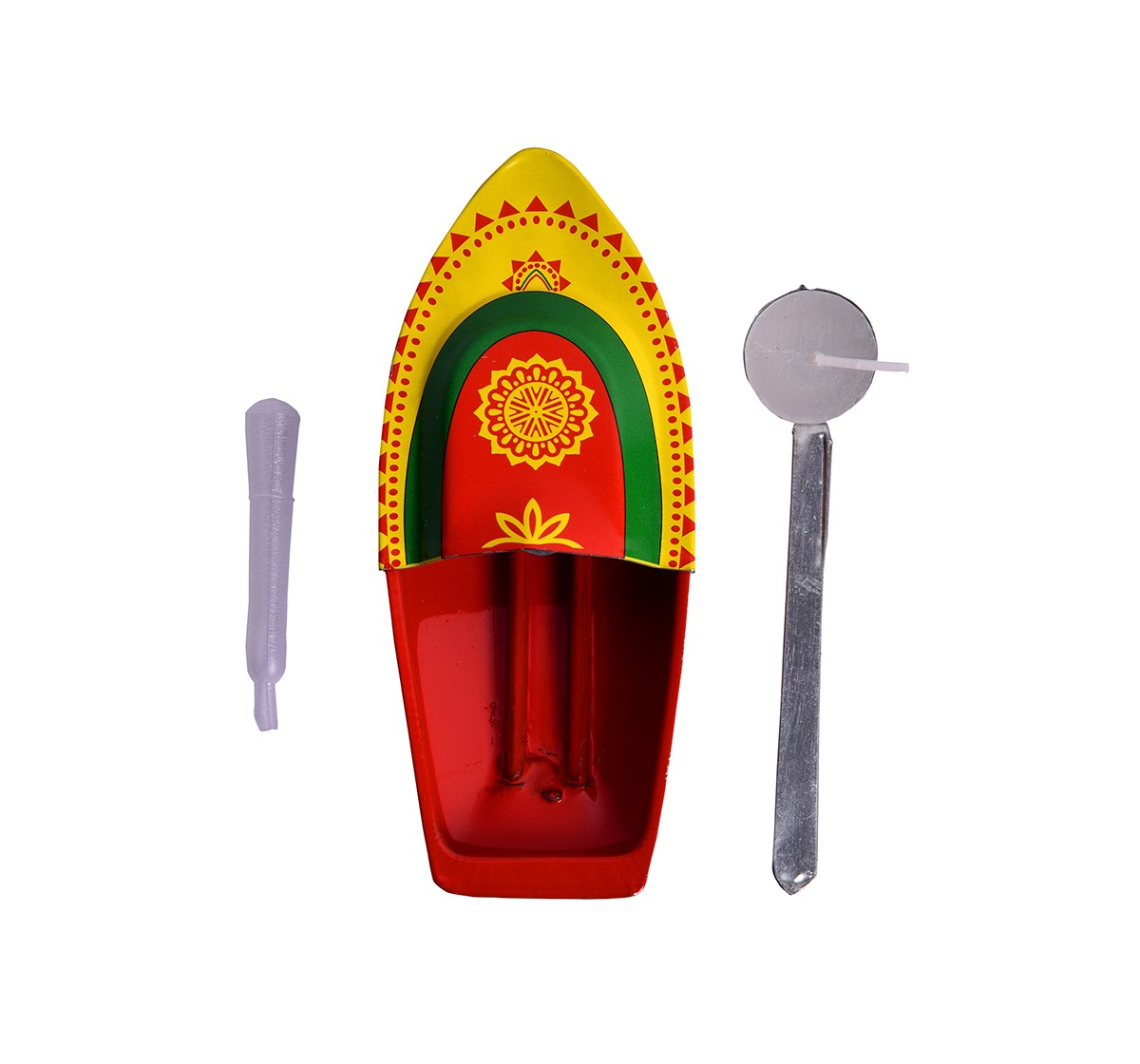 Desi Toys Premium Steam Toy Tin Boat, Putt Putt Nav Classic Game for Kids age 5Y+