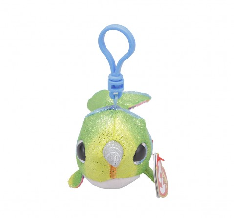 Ty NORI - Narwhal Clip Plush Accessories for Kids age 3Y+ - 8.5 Cm