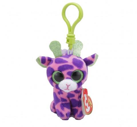 Ty GILBERT - Giraffe Clip Plush Accessories for Kids age 3Y+ - 8.5 Cm