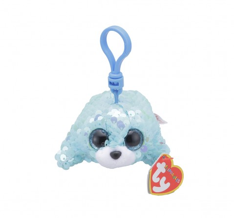 Ty WAVES - Flippables Aqua Seal Clip Plush Accessories for Kids age 3Y+ - 8.5 Cm