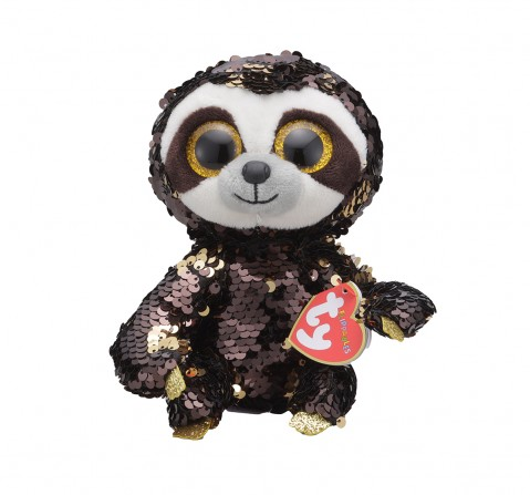 Ty DANGLER - Sloth Medium Flippables Plush Accessories for Kids age 3Y+ - 24 Cm
