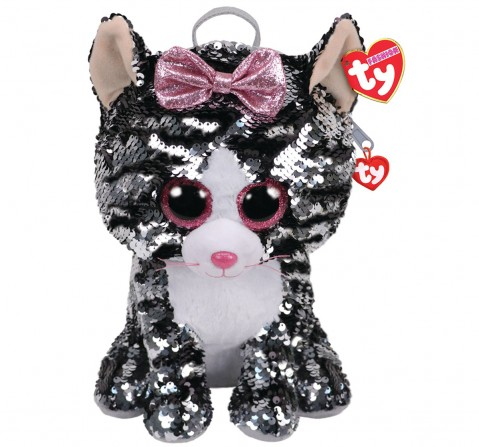 Ty KIKI - Sequin Backpack Plush Accessories for Kids age 3Y+ - 15 Cm