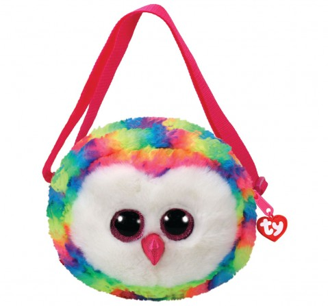 Ty OWEN - Shoulder Bag Plush Accessories for Kids age 3Y+ - 15 Cm