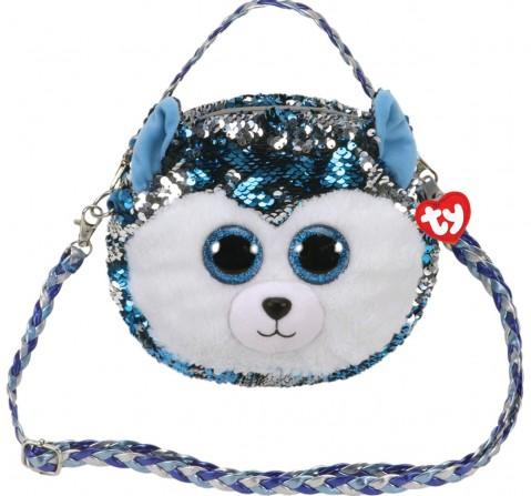 Ty SLUSH - Sequin Shoulder Bag Plush Accessories for Kids age 3Y+ - 15 Cm