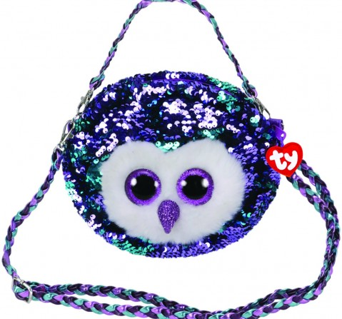 Ty MOONLIGHT - Sequin Shoulder Bag Plush Accessories for Kids age 3Y+ - 15 Cm