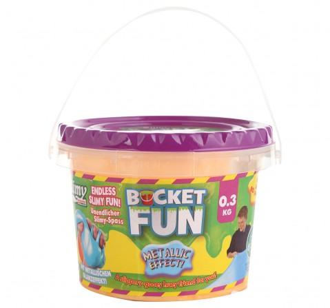 Joker Slimy Metallic Slime Bucket Fun  Sand, & Others for Kids age 3Y+