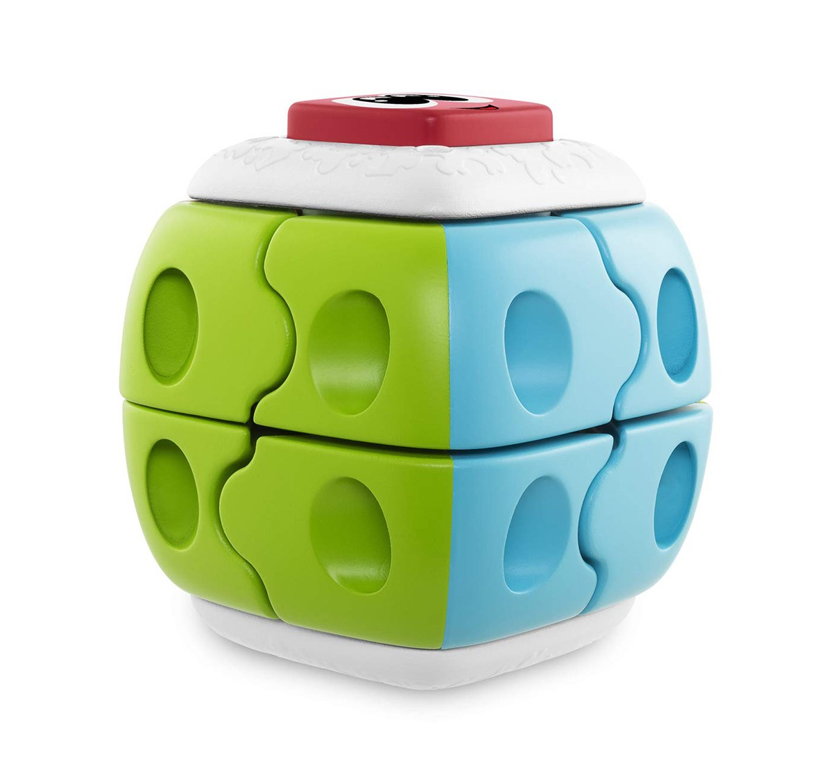 Chicco 2 IN 1 Q-Bricks Puzzle Toy for Kids age 18M +