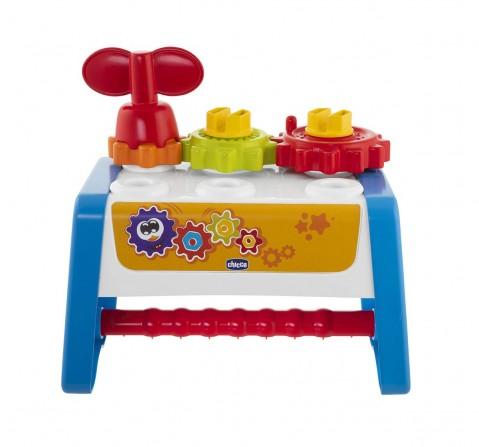 Chicco 2 IN 1 Gears & Tools Activity Set for Kids age 12M+