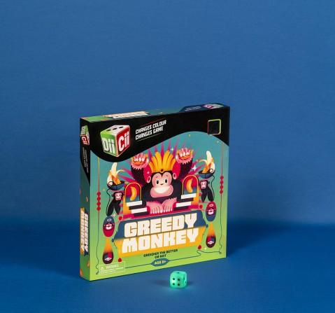 Diicii Greedy Monkey Board Games for Kids age 5Y+