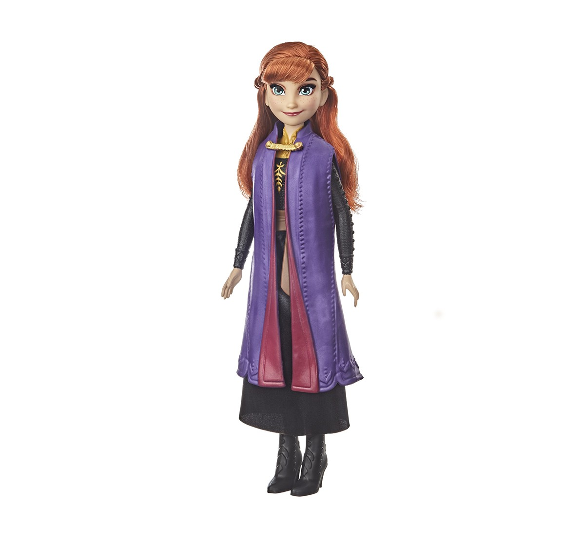 Disney Frozen 2 Anna Fashion Doll With Long Red Hair, Skirt, and Shoes, Anna Toy Inspired by Disney's Frozen 2 Movie  Dolls & Accessories for GIRLS age 3Y+