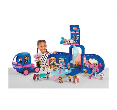 LOL OMG Glamper 4 in 1 set, Doll House & Accessories for girls age 3Y+