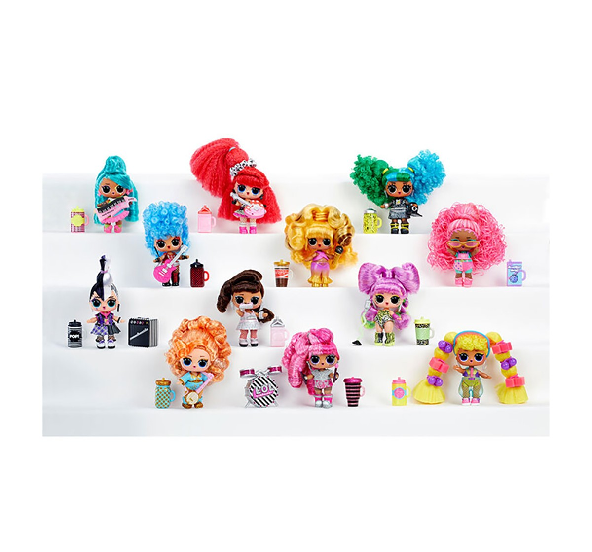 LOL Remix Tots Doll, Collectible Dolls for girls age 3Y+ (Assorted)