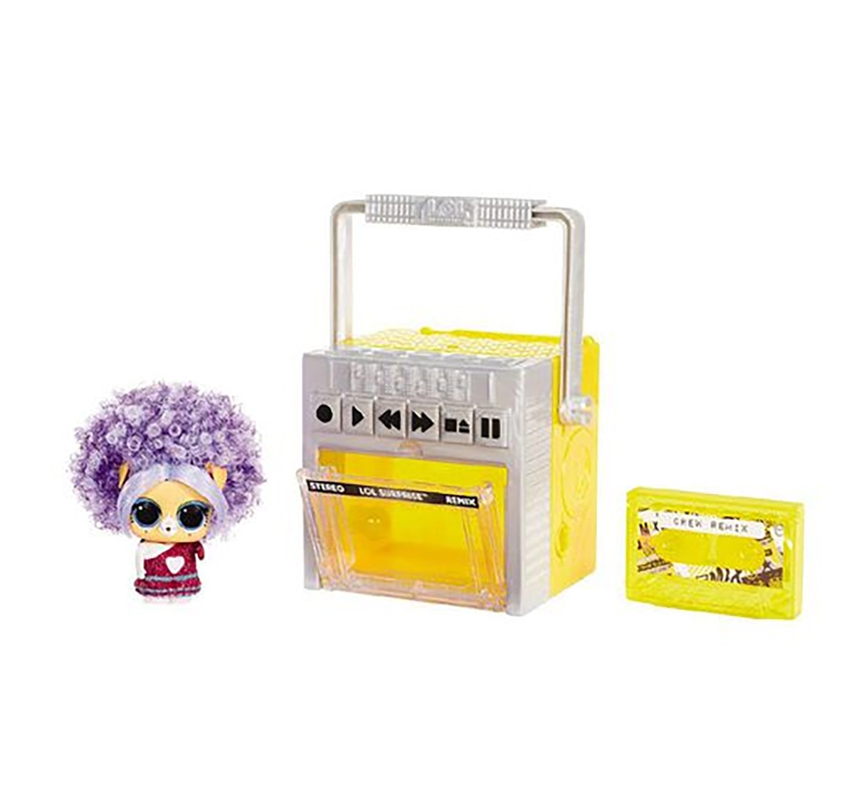 LOL Remix Pets Doll, Collectible Dolls for girls age 3Y+ (Assorted)