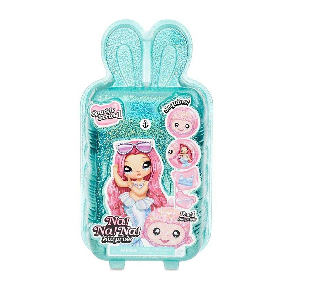LOL Na! Na! Na! Surprise 2 in1 Pom Doll, Collectible Dolls for girls age 3Y+