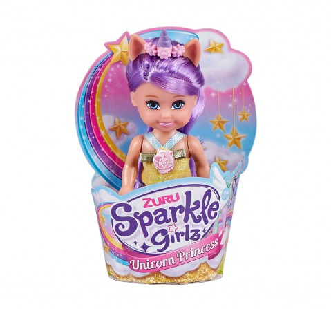 Sparkle Girlz Cupcake Unicorn Princess Dolls & Accessories for Girls age 3Y+