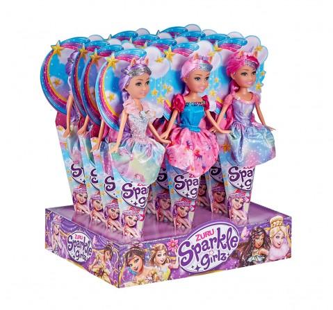 Sparkle Girlz  Unicorn Princess Cone Dolls & Accessories for Girls age 3Y+