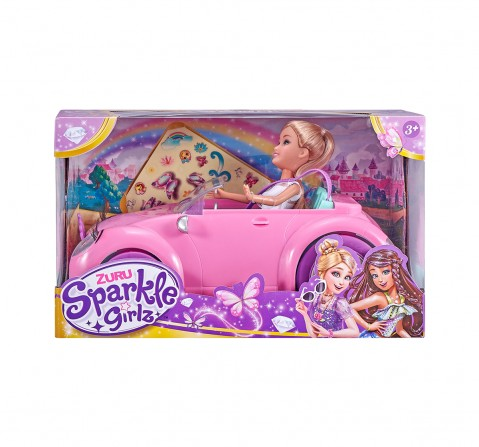 Sparkle Girlz Convertable With Doll House & Accessories for Girls age 3Y+
