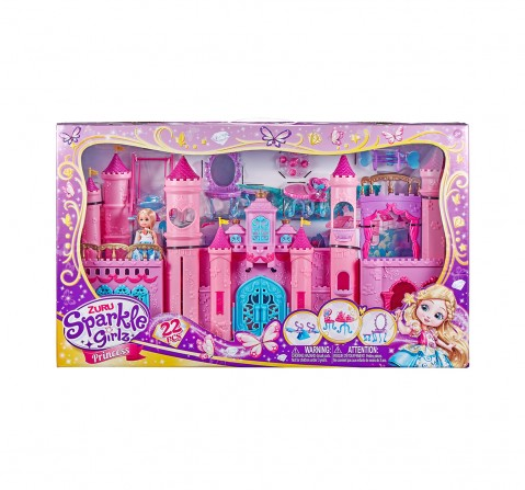 Sparkle Girlz Kingdom with Cupcake Doll House & Accessories for Girls age 3Y+