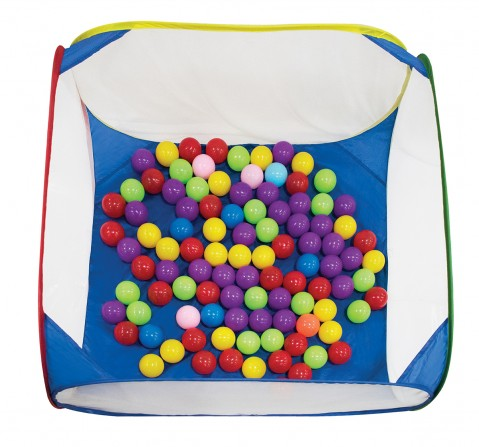 Hamleys Ball Pool With 50 Multicolor Balls For Kids, Unisex, 3Y+