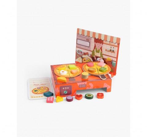 Topbright Logi-Shape Pizza Box, Girls, 3Y+, (Multicolor)
