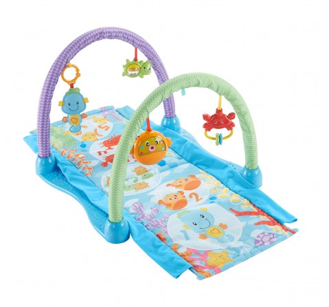 Fisher price Kick And Crawl Musical Seahorse Gym Baby Gear for Kids age 0M+