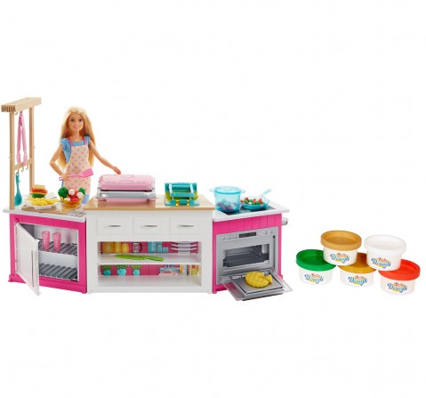 BARBIE ultimate kitchen baking, Dolls & Accessories for Girls age 3Y+