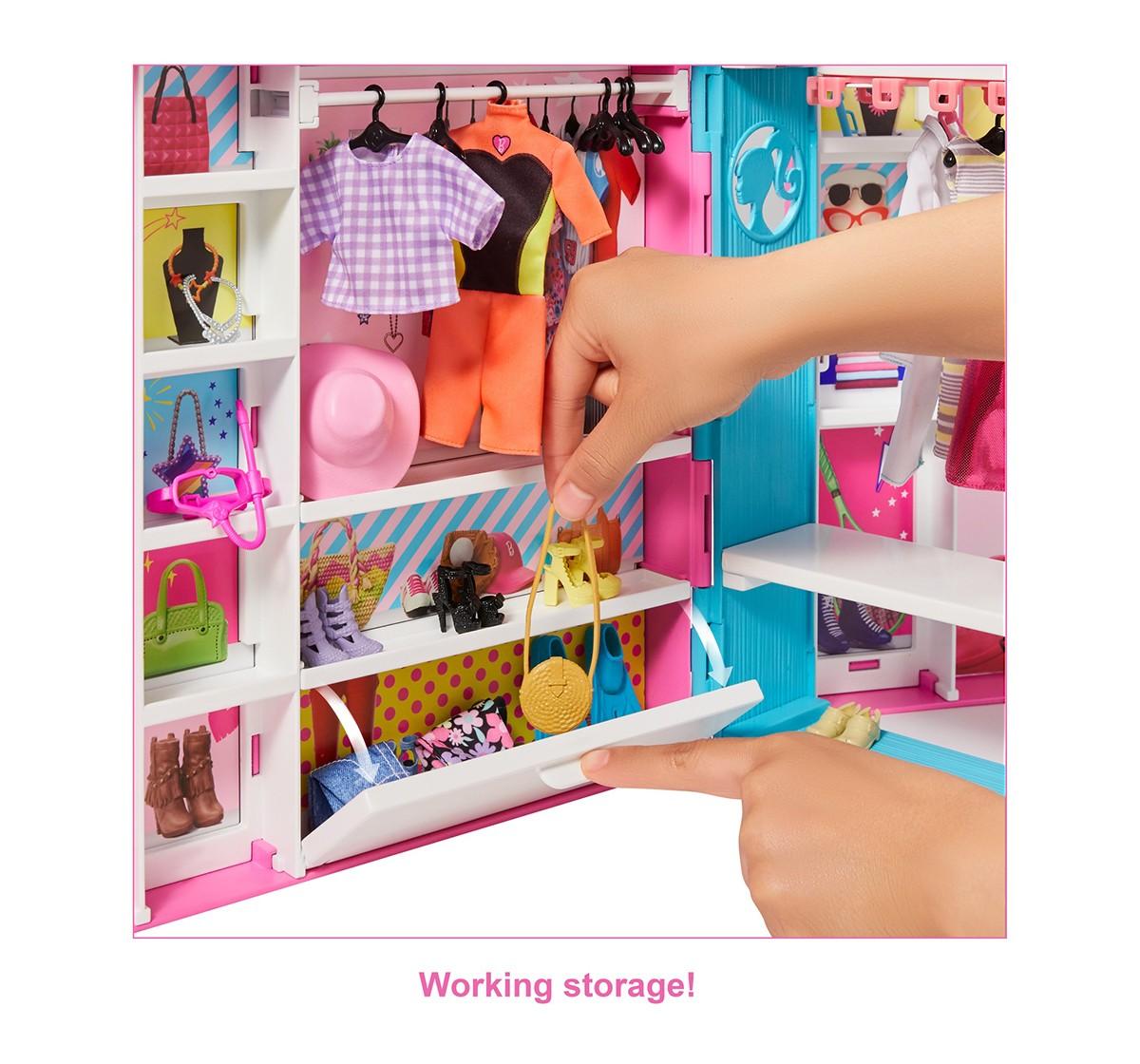 Barbie Dream Closet Dolls & Accessories for Girls age 3Y+