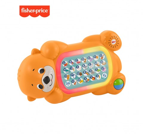 Fisher-Price Linkimals A To Z Otter, Learning Toys for Kids age 9M+