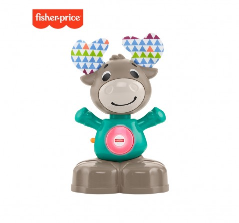 Fisher-Price Linkimals Musical Moose, Learning Toys for Kids age 9M+