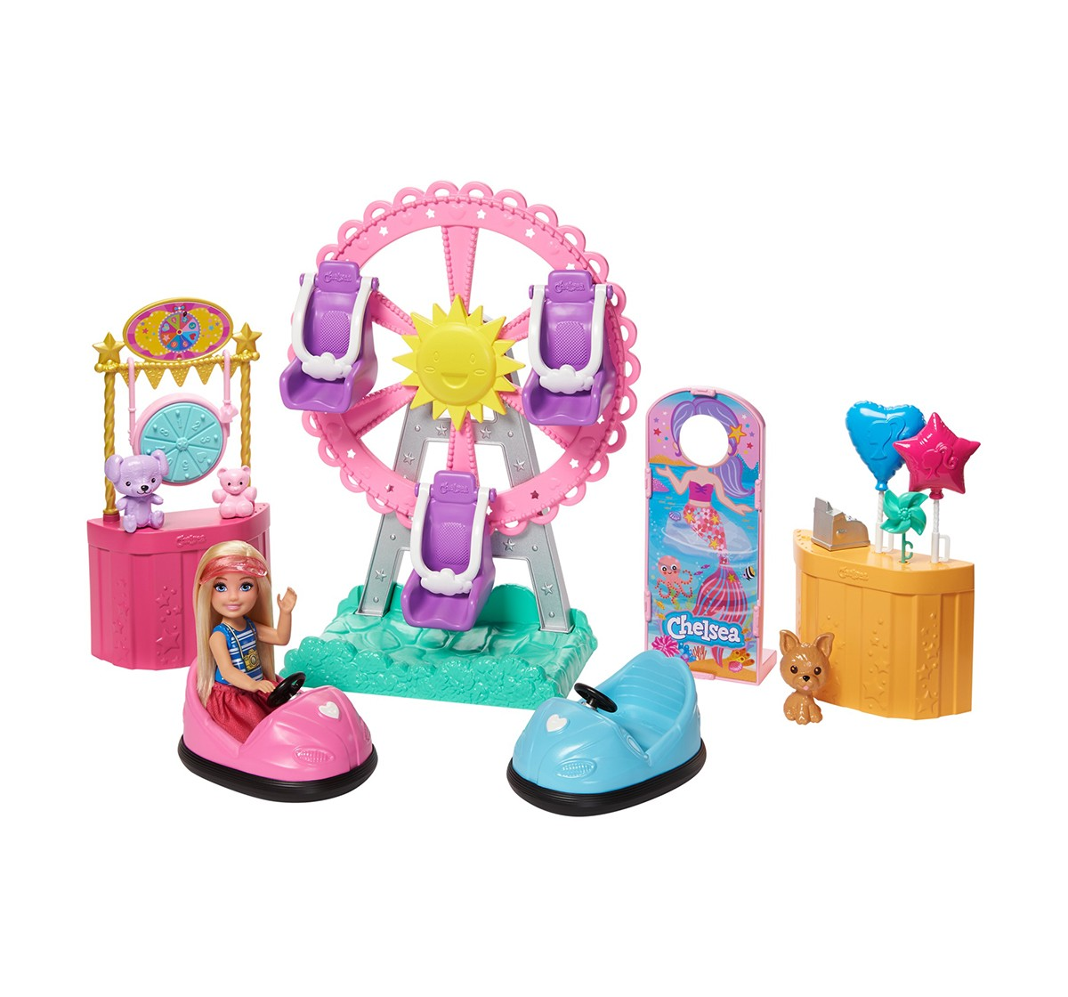 Barbie Chelsea Carnival Playset, Dolls & Accessories for Girls age 3Y+