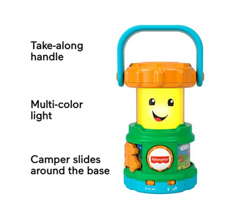 Fisher-Price  Laugh & Learn Lantern, Learning Toys for Kids age 6M+