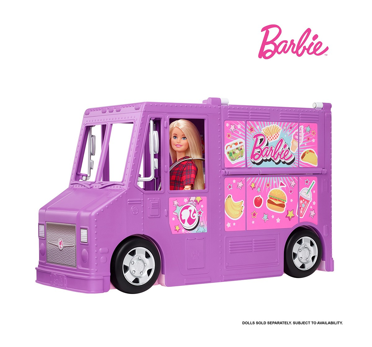 Barbie Food Truck Dolls & Accessories for Girls age 3Y+