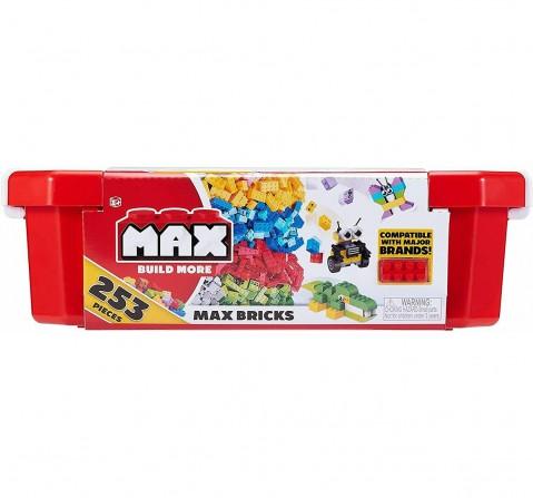 Zuru Max Build More Value Pack - 253 Pcs Generic Blocks for Kids age 3Y+