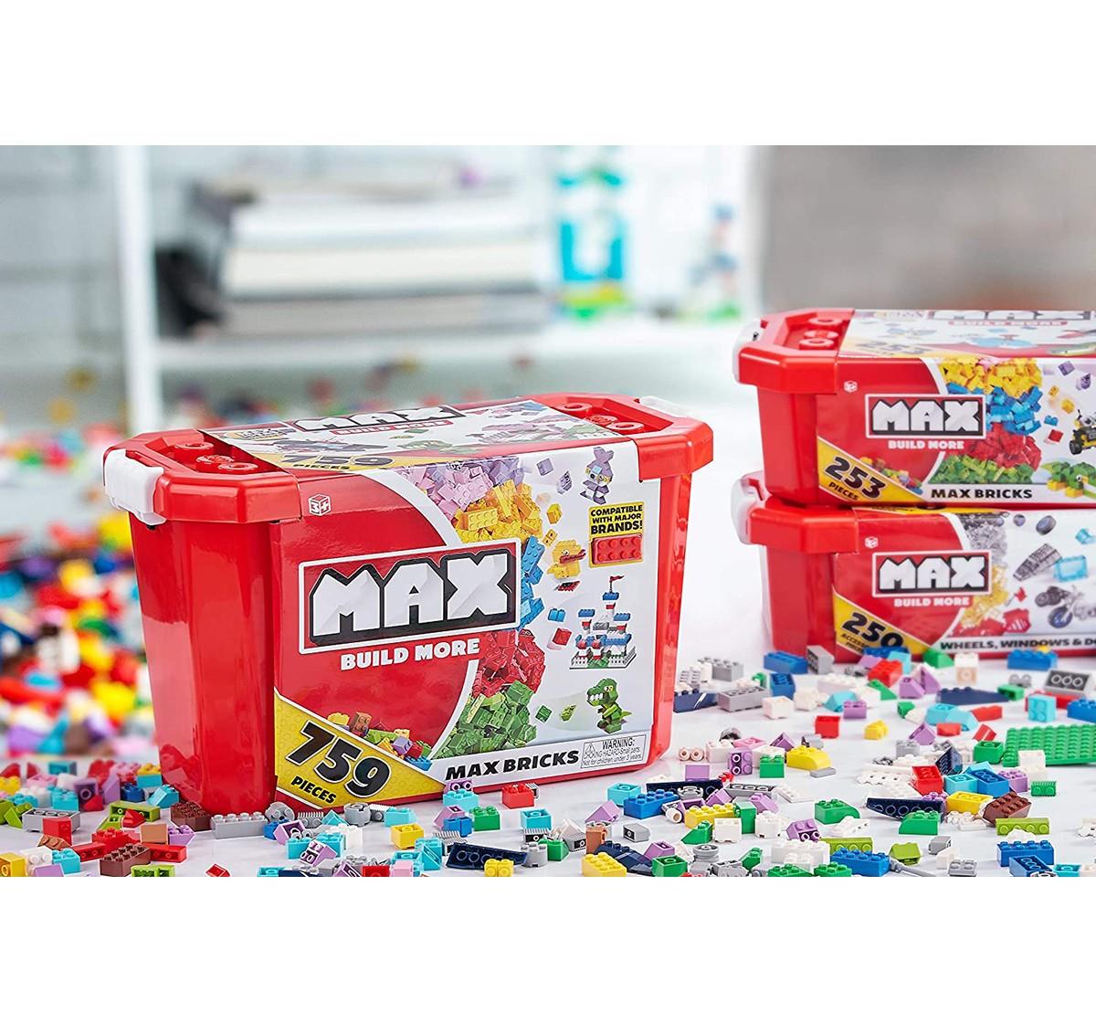 Zuru Max Build More Value Pack -759 Pcs Generic Blocks for Kids age 3Y+