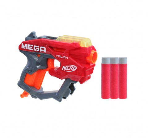 Nerf Mega Talon Blaster -- Includes 3 Official AccuStrike Nerf Mega Darts -- For Kids, Teens, Adults Blasters for BOYS age 8Y+