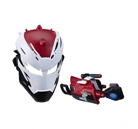 Marvel Spider-Man Maximum Venom Toy Venomized Iron Man Set, Includes Venomized Iron Man Mask, Dart Repulsor, For Ages 5 And Up