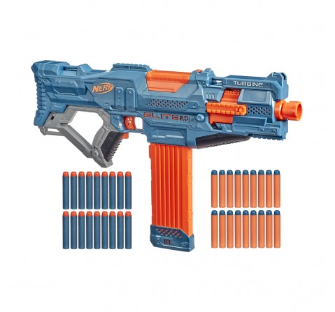 Nerf Mega Motostryke Motorized 10-Dart Blaster --  Includes 10 Official Nerf Mega Darts and 10-Dart Clip -- For Kids, Teens, Adults Blasters for BOYS age 8Y+