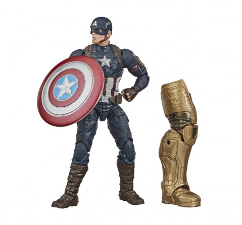 Hasbro Marvel Legends Series Avengers 6-inch Collectible Action Figure Toy Captain America, Premium Design and 2 Accessories Action Figures for BOYS age 4Y+