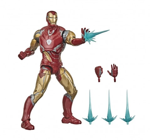 Hasbro Marvel Legends Series Avengers 6-inch Collectible Action Figure Toy Iron Man Mark LXXXV, Premium Design and 4 Accessories Action Figures for BOYS age 4Y+