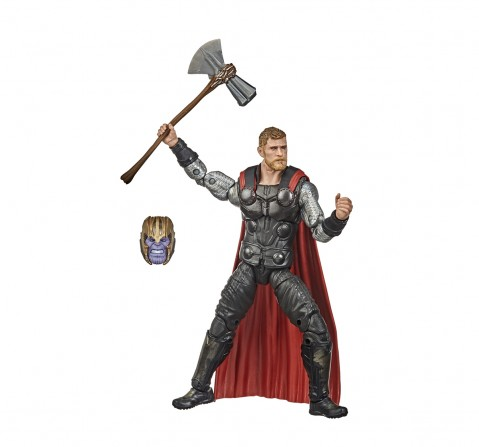Hasbro Marvel Legends Series Avengers 6-inch Collectible Action Figure Toy Thor, Premium Design and 2 Accessories Action Figures for BOYS age 4Y+