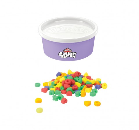 Play-Doh Slime Rainb-Os Cereal Themed Slime Compound Assorted for Kids 3 Years and Up, 4.5-ounce Can with Plastic Cereal Bits, Non-Toxic Sand, Slime & Others for Kids age 3Y+
