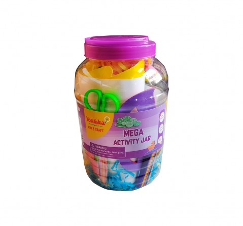 Youreka Mega Activity Jar DIY Art & Craft Kits for Girls age 3Y+
